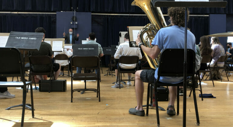 Ole Miss Bands Prepare for Spring Concert