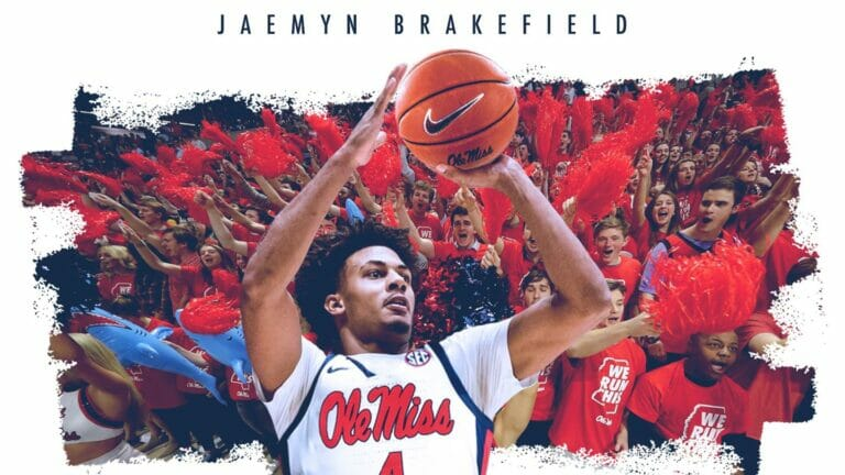 Ole Miss Adds Transfer Jaemyn Brakefield to the Roster